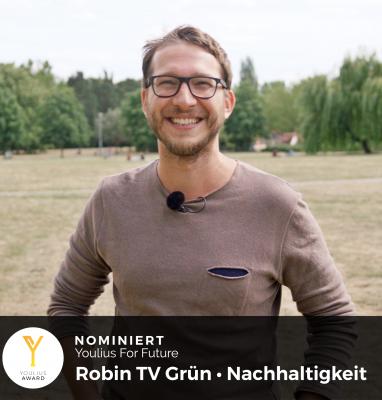 Youlius For Future – Robin TV Grün